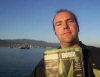 Chris on the Vancouver Island Ferry