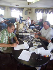 Judges at the Weed Cup