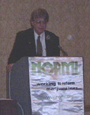 Keith Stroup of NORML USA speaks