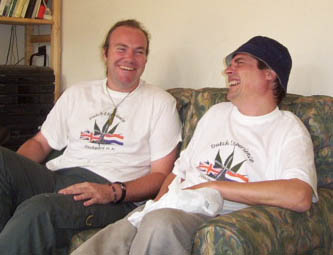 NORML President Chris Fowlie meets Dutch Experience Stockport founder Colin Davies