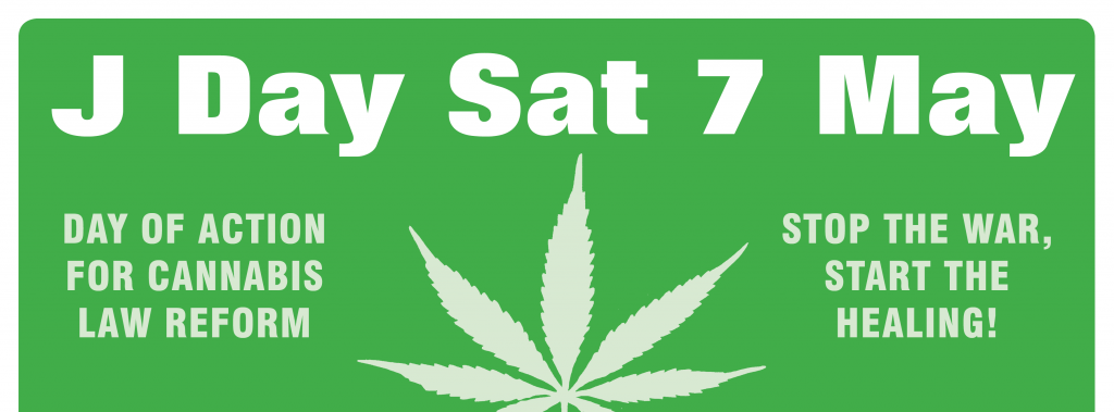 National Day of Action for Cannabis Law Reform