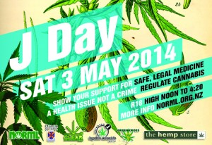 J Day is Saturday 3rd May, 2014