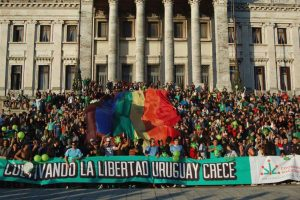 Rally to make cannabis legal in Uruguay